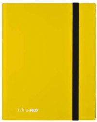 Portfolio Pro Binder Eclipse Lemon Yellow - 360 cartes A4