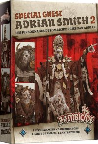 Zombicide Black Plague : Special Guest Adrian Smith 2