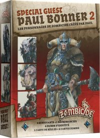 Zombicide Black Plague : Special Guest Paul Bonner 2