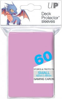 Sachet de 60 sleeves Rose Clair - Format JP
