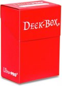 Deck Box - Rouge (75 cartes)