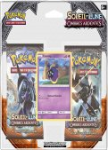 "Pokémon Soleil & Lune 3 ""Ombres Ardentes"" :  Pack 2 boosters"