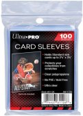 Sachet de 100 sleeves Transparents très souples - Format US