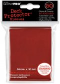 Sachet de 50 sleeves Rouge - Format US