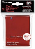 Sachet de 60 sleeves Rouge - Format JP