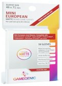 Gamegenic :  Sachet 50 sleeves Matte Mini European Ruby (46 x 71 mm)