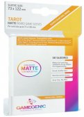 Gamegenic :  Sachet de 50 sleeves Matte Tarot Orange (73 x 122 mm)