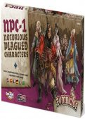Zombicide Black Plague :  Notorious Plagued Characters #1