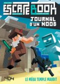 Escape book junior - Journal d'un noob :  le mega temple maudit